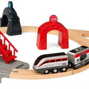Brio Smart Tech Engine Set With Action Tunnels 2