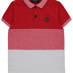 3 Red Palm Beach Emblem Polo Shirt from 4 at George
